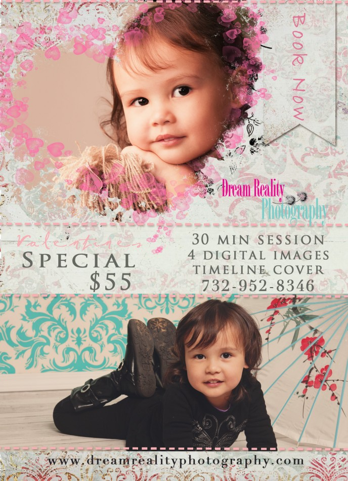 VALENTINE PROMO_dream reality photography-children-family-portraits-studio 2014