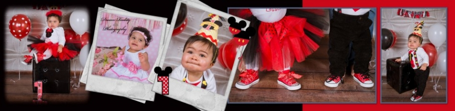 dream reality photography_ cake smash_ montage_ book