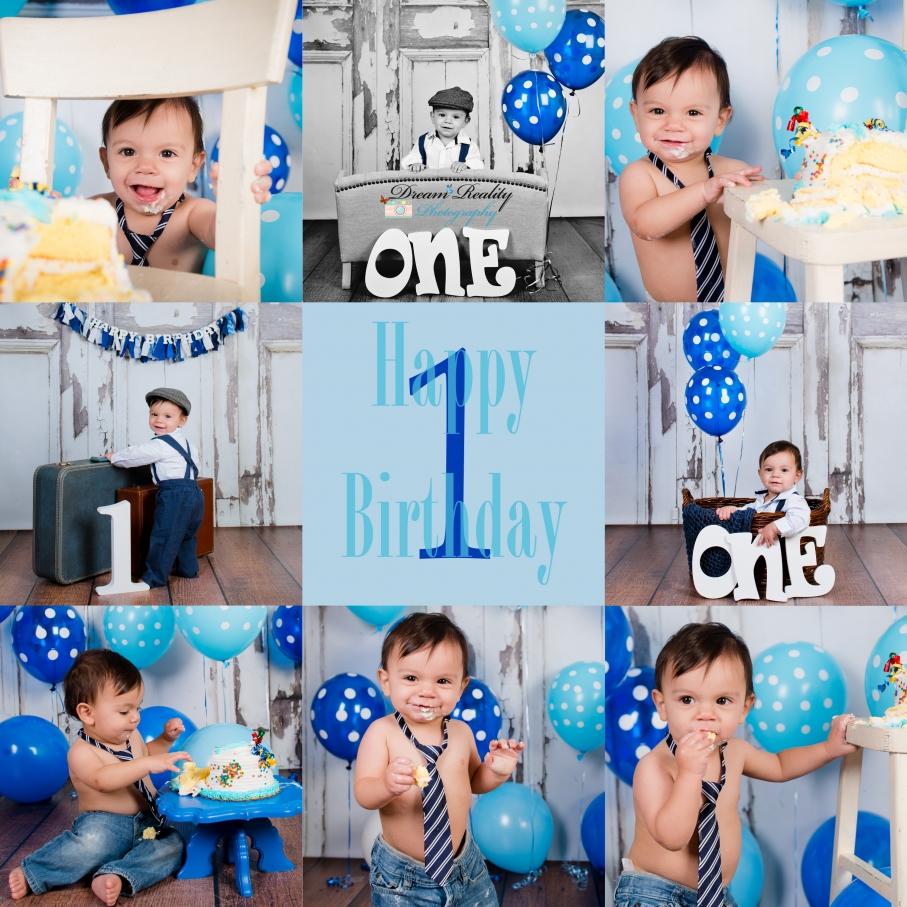 First Birthday Cake Smash {Howell NJ Newborn & Children