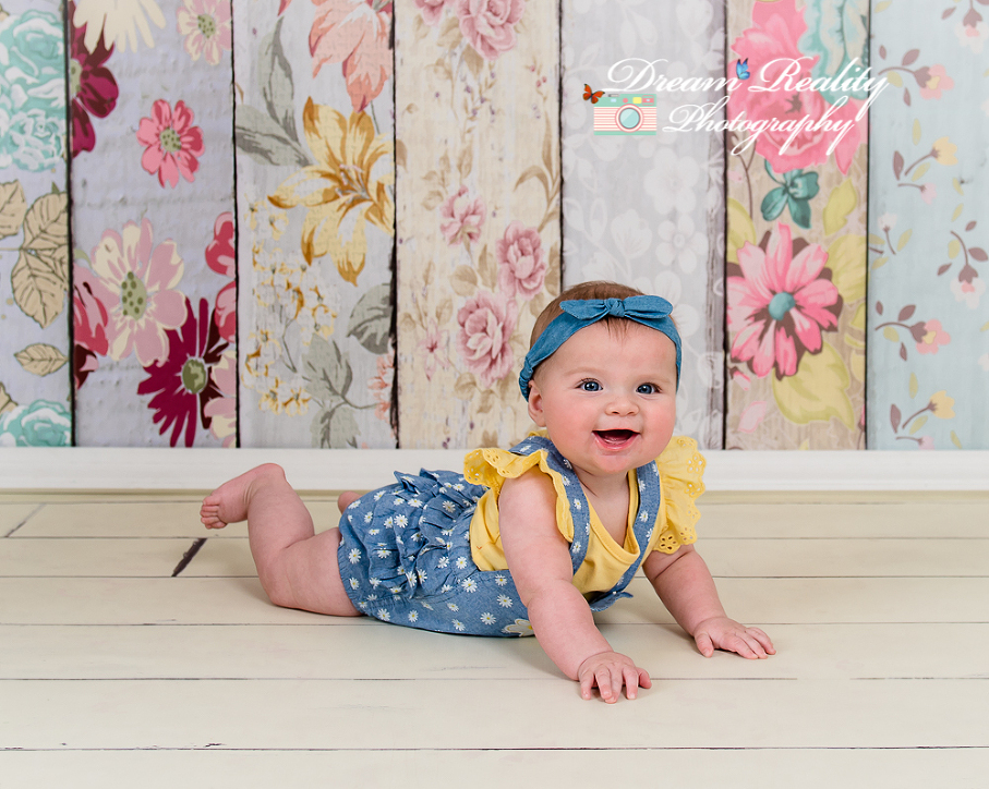 6 months old girl portraits jackson ocean county nj newborn children portrait photographer