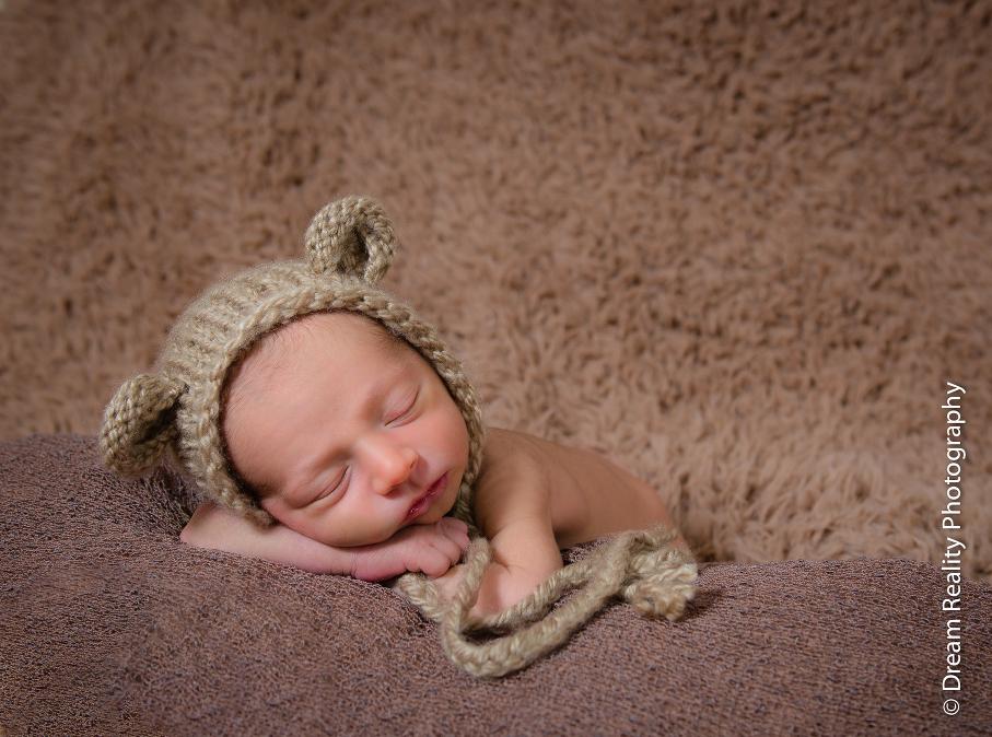 Sweet newborn boy