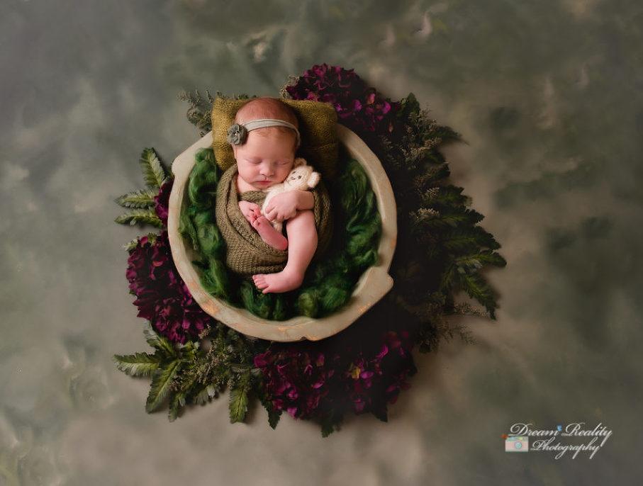 Hamilton NJ Newborn Girl Portraits |Central Jersey Newborn & Baby Photographer & Studio Dream Reality Photography